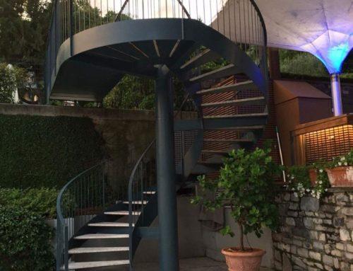 Scala elicoidale Grand Hotel Tremezzo