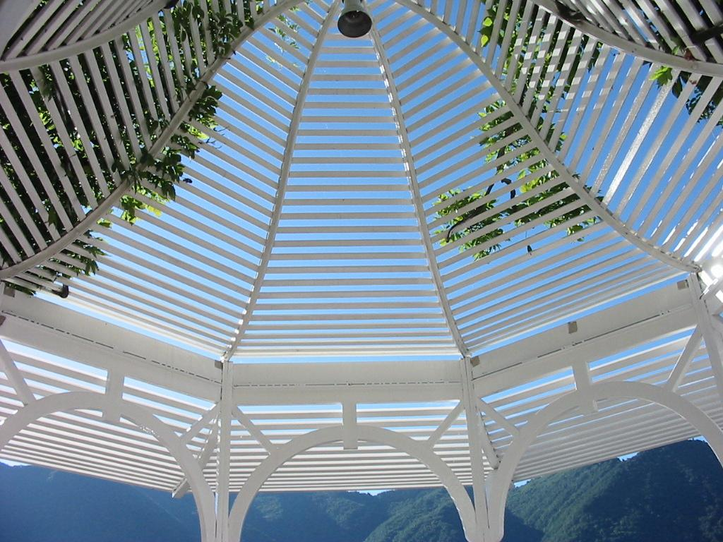 Gazebo per Villa d'Este sul Lago di Como