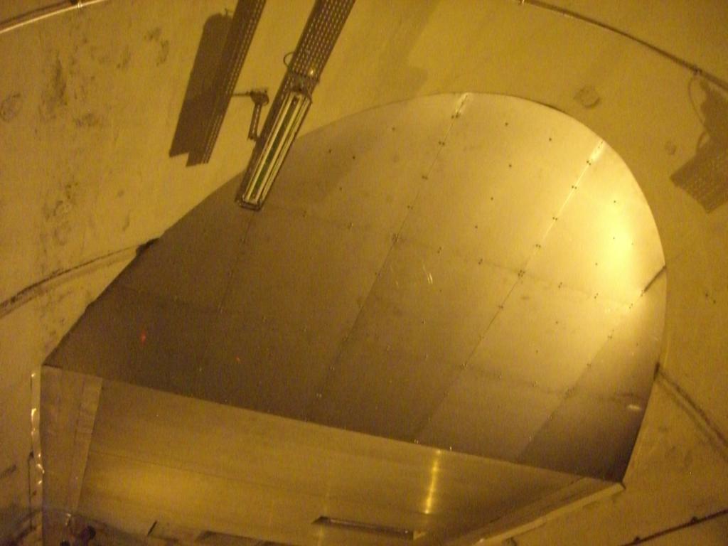 Realizzazione e posa di condotti di aspirazione forzata galleria di Cernobbio
